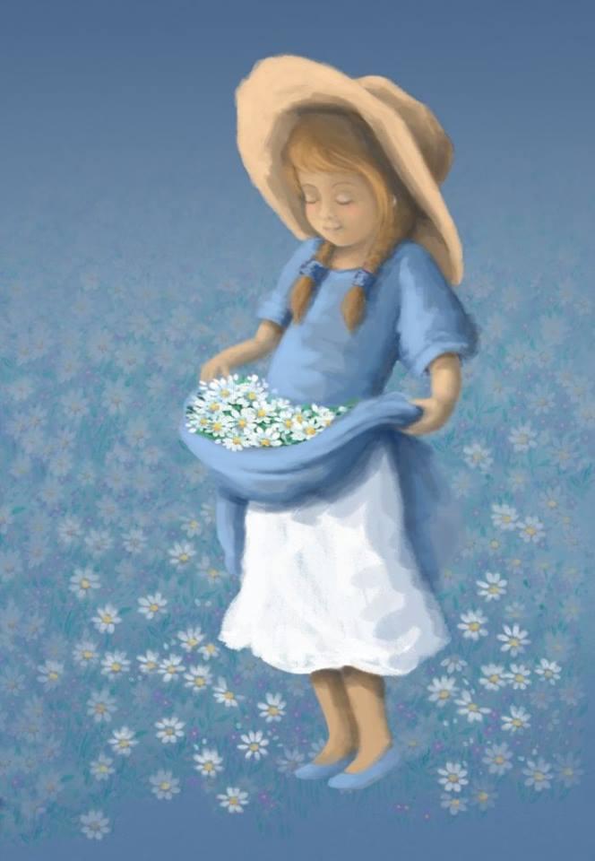 """Nella vita dire quello che si pensa attira antipatie, ma seleziona le persone. Quelle che restano al tuo fianco, le puoi chiamare """"amiche"""". NmargheNiki Gabi Murphy - Girl with Flowers"""