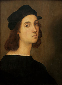 Autoritratto di Raffaello Sanzio