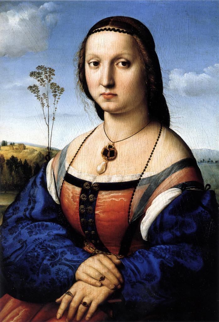 """""""Ritratto di Maddalena Strozzi"""", 1506"""