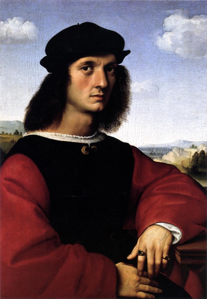 """""""Ritratto di Agnolo Doni"""", 1506."""