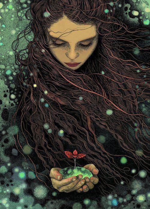 Al saggio tutta la Terra è aperta, perché patria di un'anima bella è il mondo intero. _ Democrito _ Magdalena Korzeniewska Art