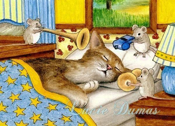 Se la vita ha un senso, dev'essere il senso dell'umorismo. _ Leo Ortolani _ Illustrazione di Lucie Dumas.