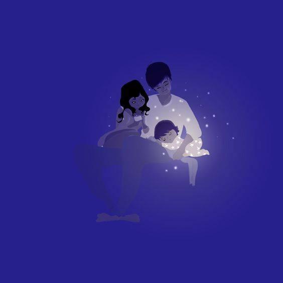 Arriva un tempo in cui la felicità non è uscire con gli amici, giocare a calcetto, fare tardi la sera o andare a ballare. La felicità è quando chiudi la porta di casa e tutto quello che vuoi e che ti serve lo trovi accanto a te... (Cit.) Illustrazione di Pascal Campion