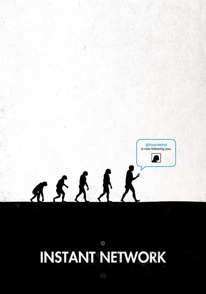 """Instant Network"" di Maentis."
