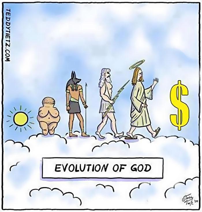 """L'evoluzione di Dio"" di SDunne17"