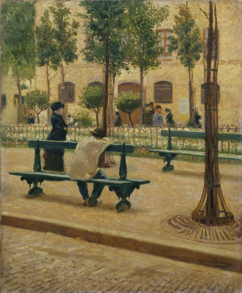 """Federico Zandomeneghi, """"Place du Tertre"""", 1880"""