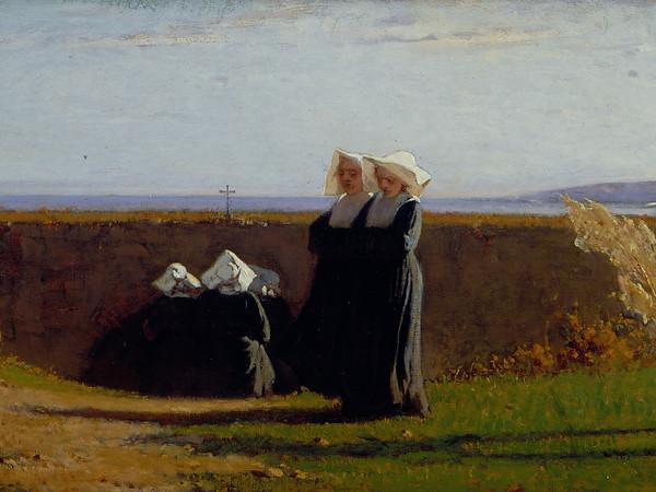 """Le monachine"" (1860), Vincenzo Cabianca"