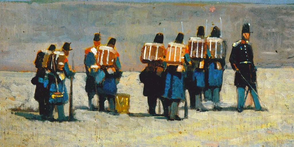 """""""Soldati francesi del '59"""" (1859), Giovanni Fattori"""