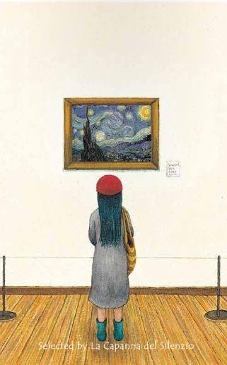 Per vedere bene alcuni quadri devi allontanarti. Stessa cosa succede per conoscere a fondo alcune persone.(Cit.) Illustrazione di Jimmy Liao.