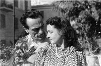 Eduardo De Filippo con Doroty Pennington