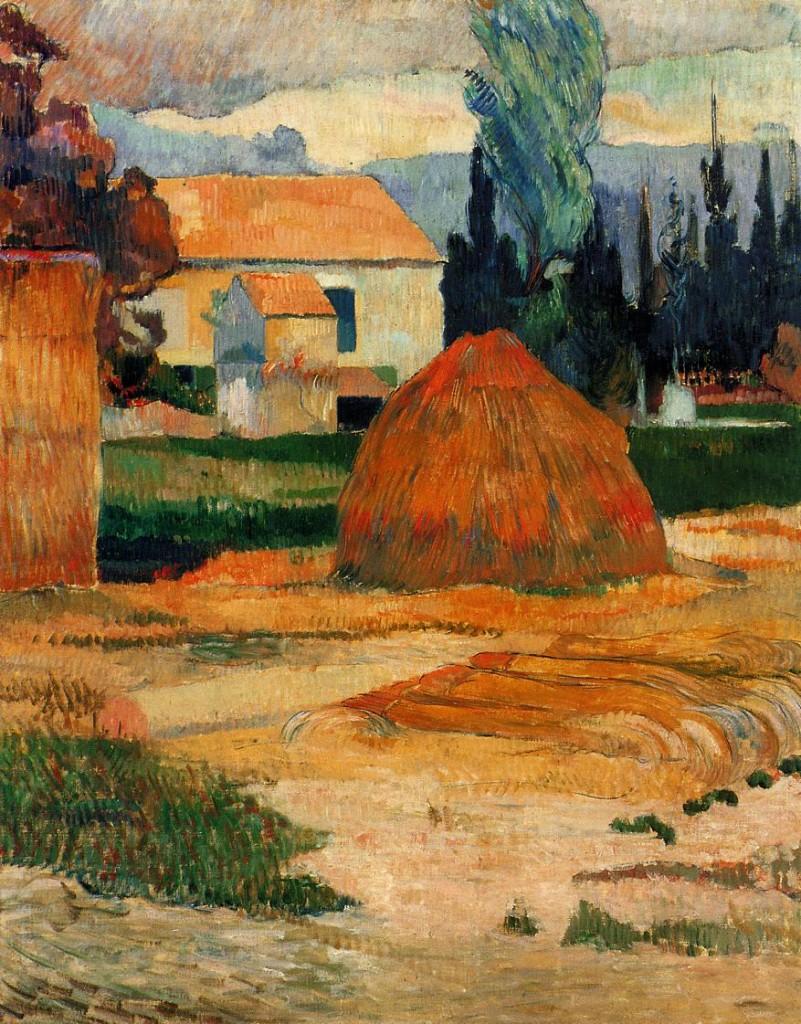 La fattoria di Arles, 1888
