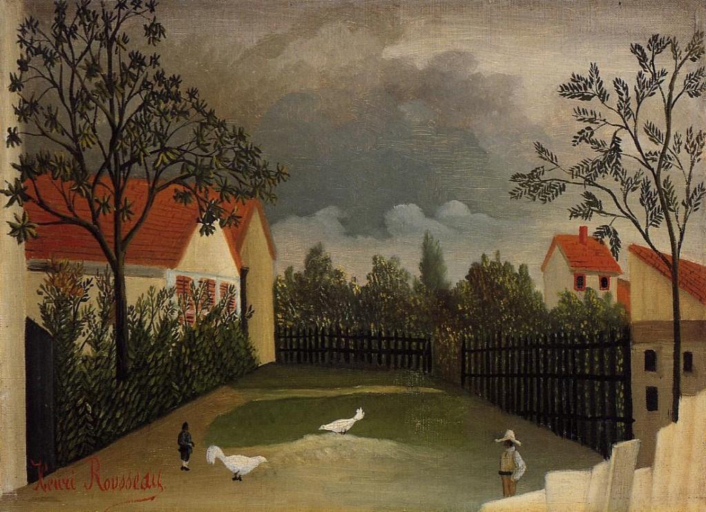 """""""Le basse-cour"""", 1896-98"""