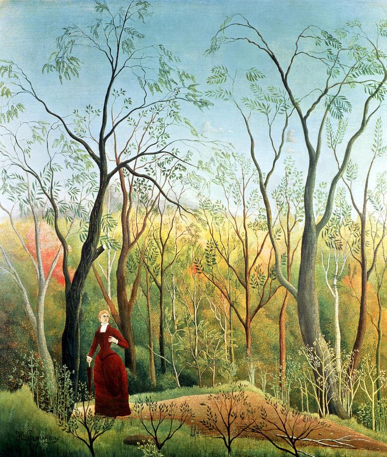 """""""Passeggiata nella foresta"""", 1890"""