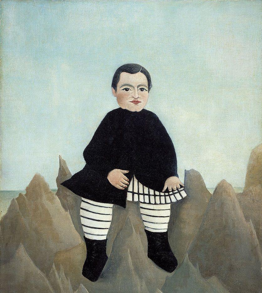 """""""Ragazzo sugli scogli"""", 1895"""