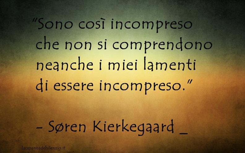 Søren Kierkegaard Biografia Pensiero E Citazioni