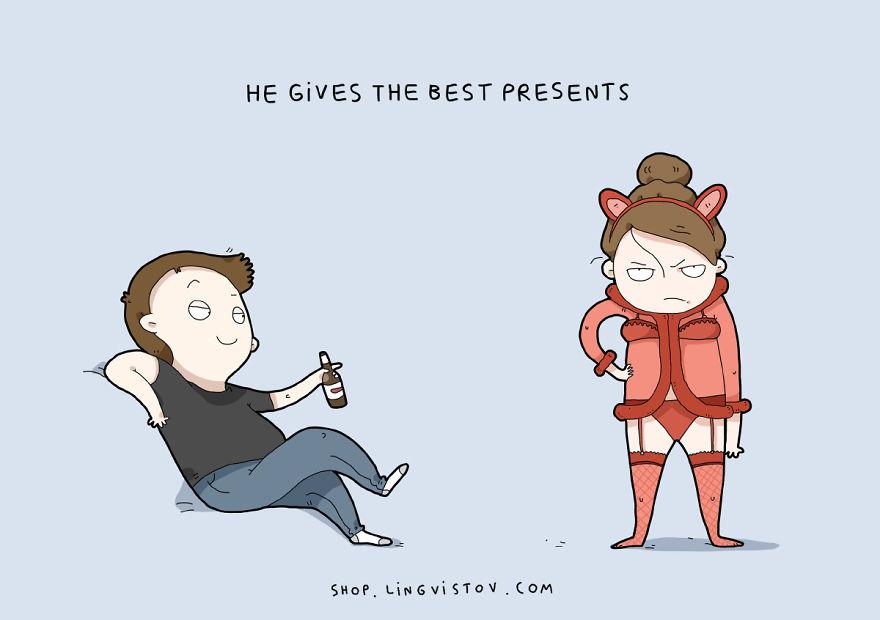"""""""Mi fa i migliori regali""""."""