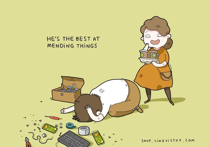 """""""È il migliore nel riparare le cose""""."""