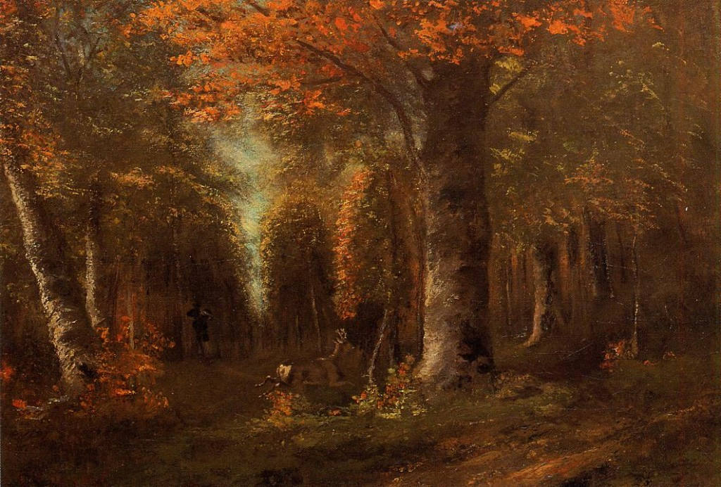 """La foresta in autunno"" (1841)"