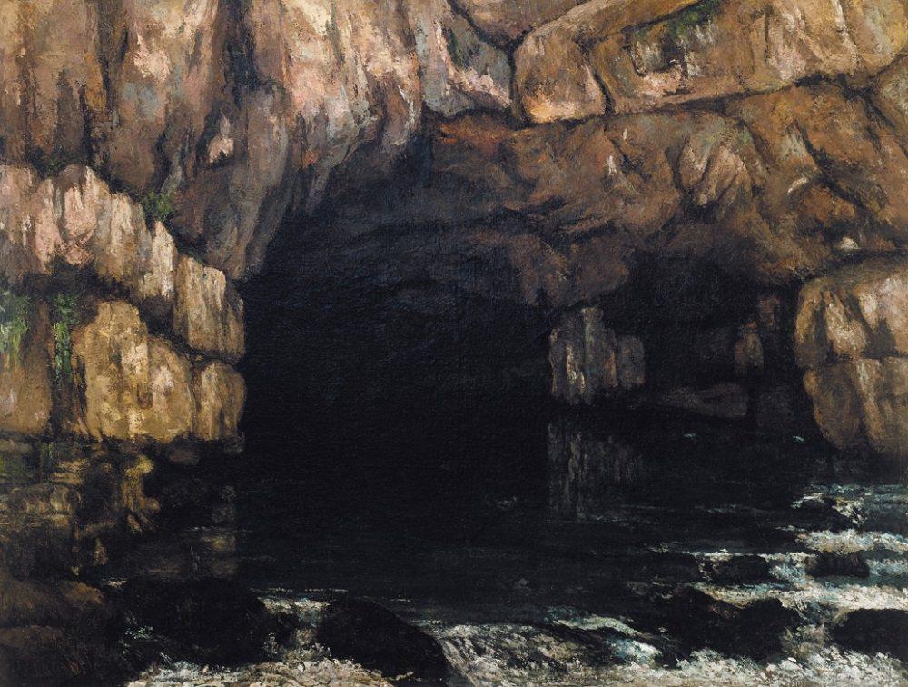 """La sorgente della Loue"" (1866)."