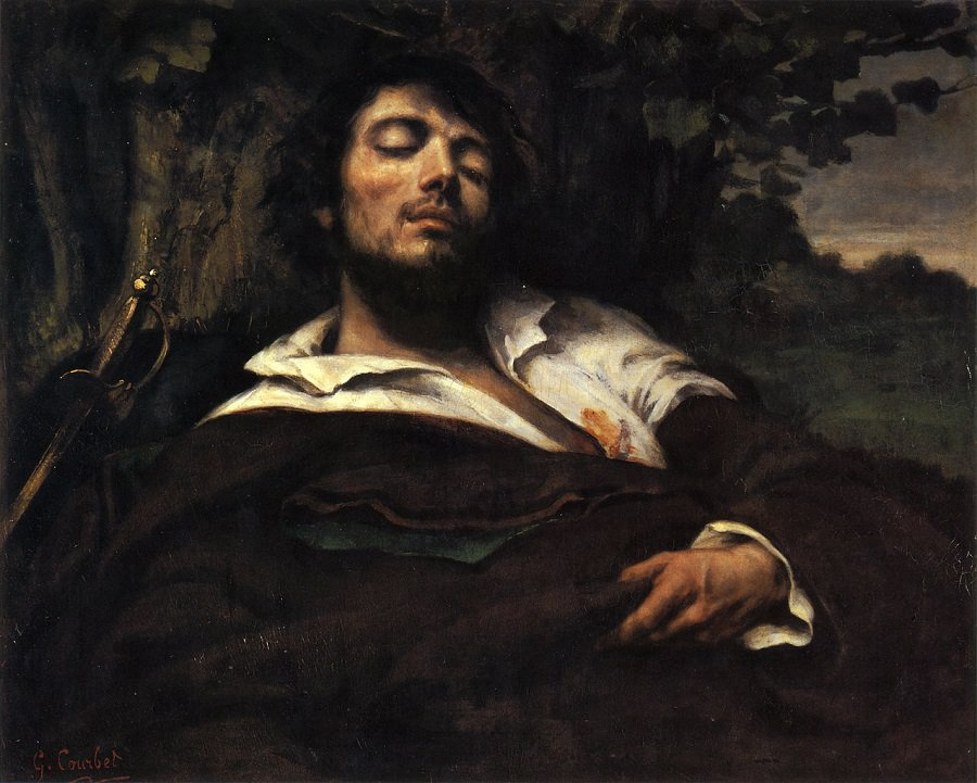 """""""L'uomo ferito"""" (1844)"""