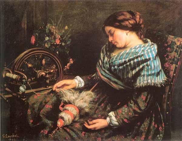 """""""La filatrice addormentata"""" (1853)"""