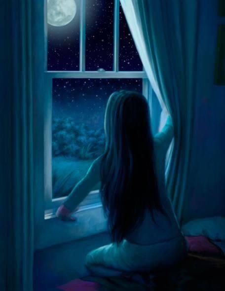 Finisce sempre così. Le cose che non puoi dire a nessuno, le racconti alla notte. _ Antonio Curnetta _ Immagine reperita nel web