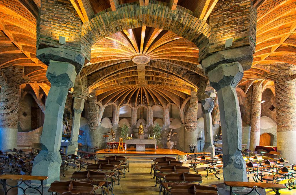 """""""La Cripta della Colonia Güell"""", Barcellona."""