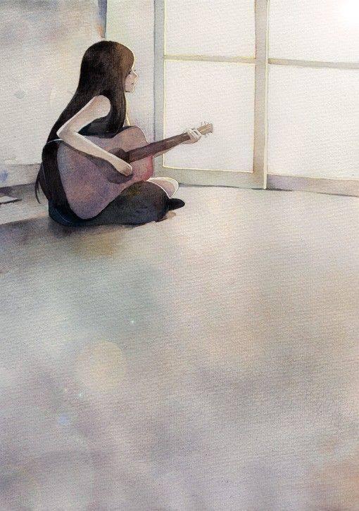 """Alcuni giorni non ci sarà una canzone nel tuo cuore. Canta comunque. _ Emory Austin _ """"Bölüm"""" by Kahve Kokusu"""