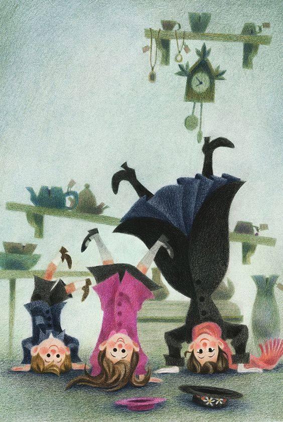 """Affrettati a vivere bene e pensa che ogni giorno è in se stesso una vita _ Lucio Anneo Seneca _ """"Mary Poppins comes back"""" - Houghton Mifflin Harcourt"""