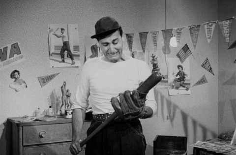 """""""Un americano a Roma"""" (1954), diretto da Steno."""