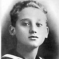 Alberto Sordi bambino.