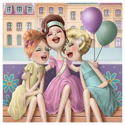 """Le donne speciali sono complici e sorridono; le altre competono e acidificano. _ Livia Cassemiro _ """"Folie, Folie"""" by Nina de San"""