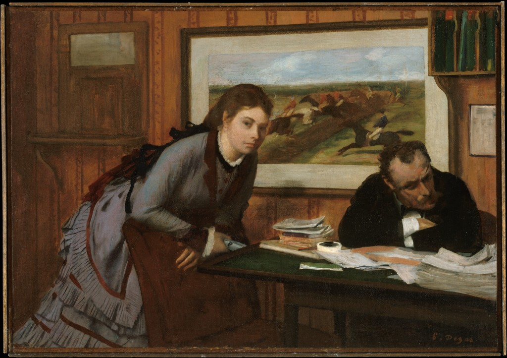 """Il broncio"" (1869, 1871). New York, Metropolitan Museum."