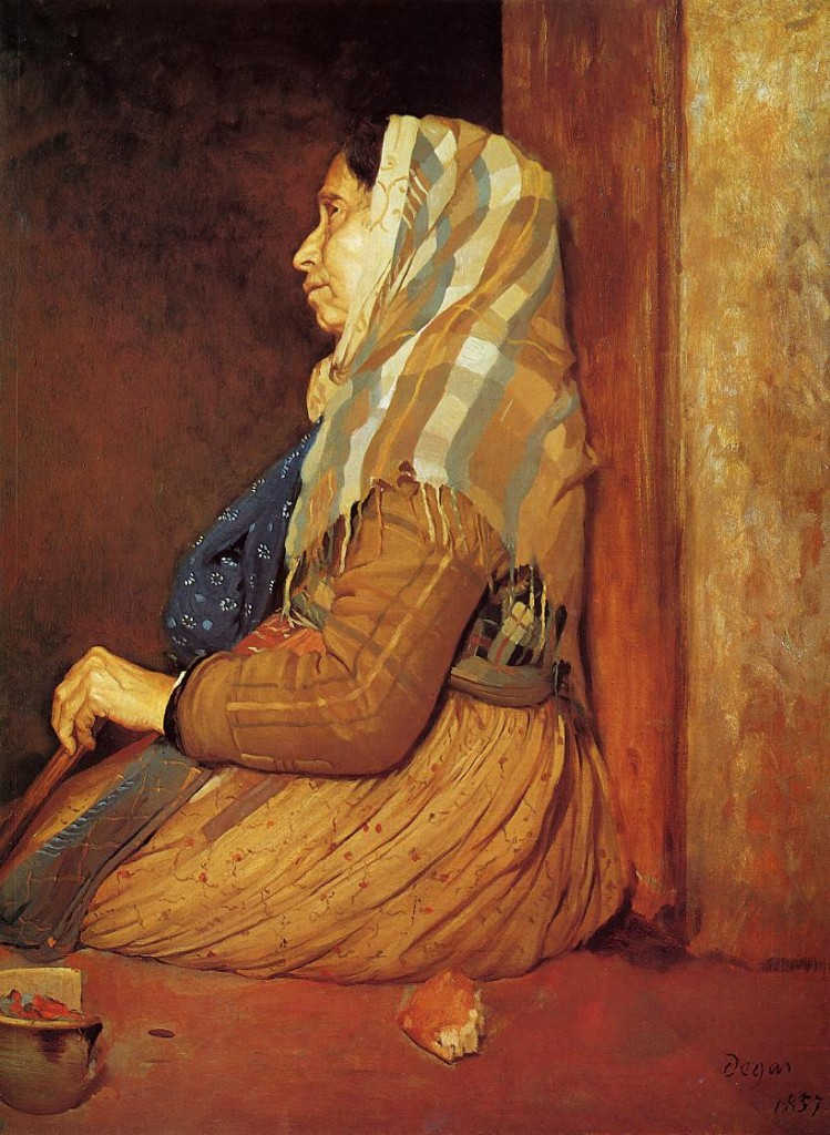 """""""Mendicante romana"""", 1857."""