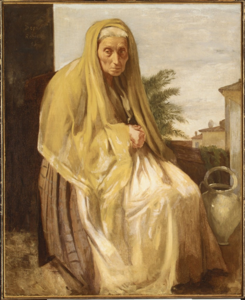"""La vecchia"", 1857. Metropolitan Museum of Modern Art, New York."