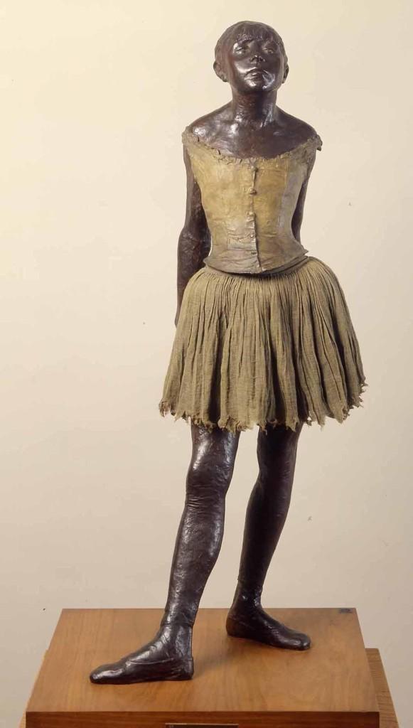 """Ballerina di quattordici anni"", 1880. Parigi, Museo d'Orsay."
