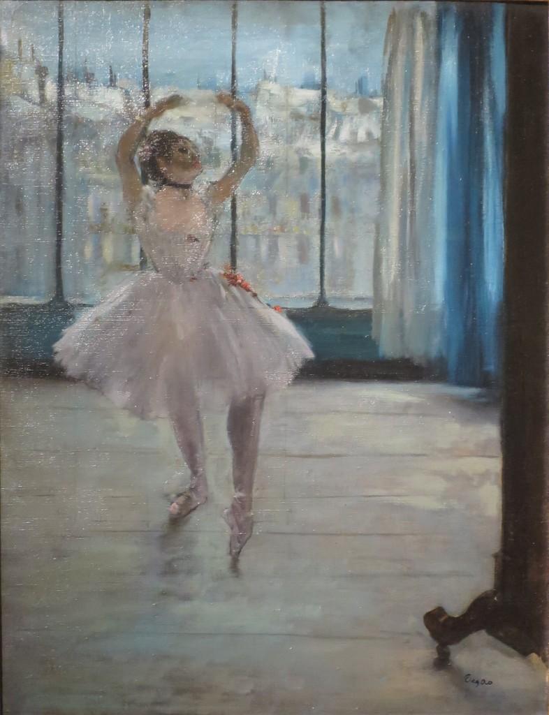 """Ballerina davanti a una finestra"", 1877-79. Mosca, Museo Pushkin."