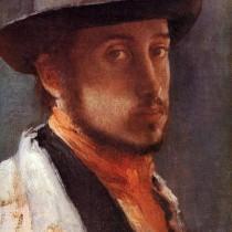 """""""Autoritratto"""", 1857-58."""