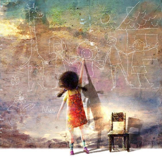 Prendi tua figlia e insegnale lo splendore della disobbedienza. È rischioso, ma più rischioso non farlo mai. _ Sofocle _ Lee, Uk-Jae Illustration.