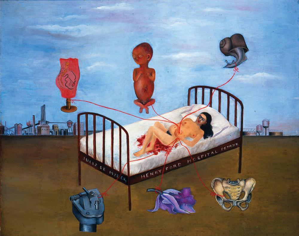 """Henry Ford Hospital"" o ""Il letto volante"" (1932)."