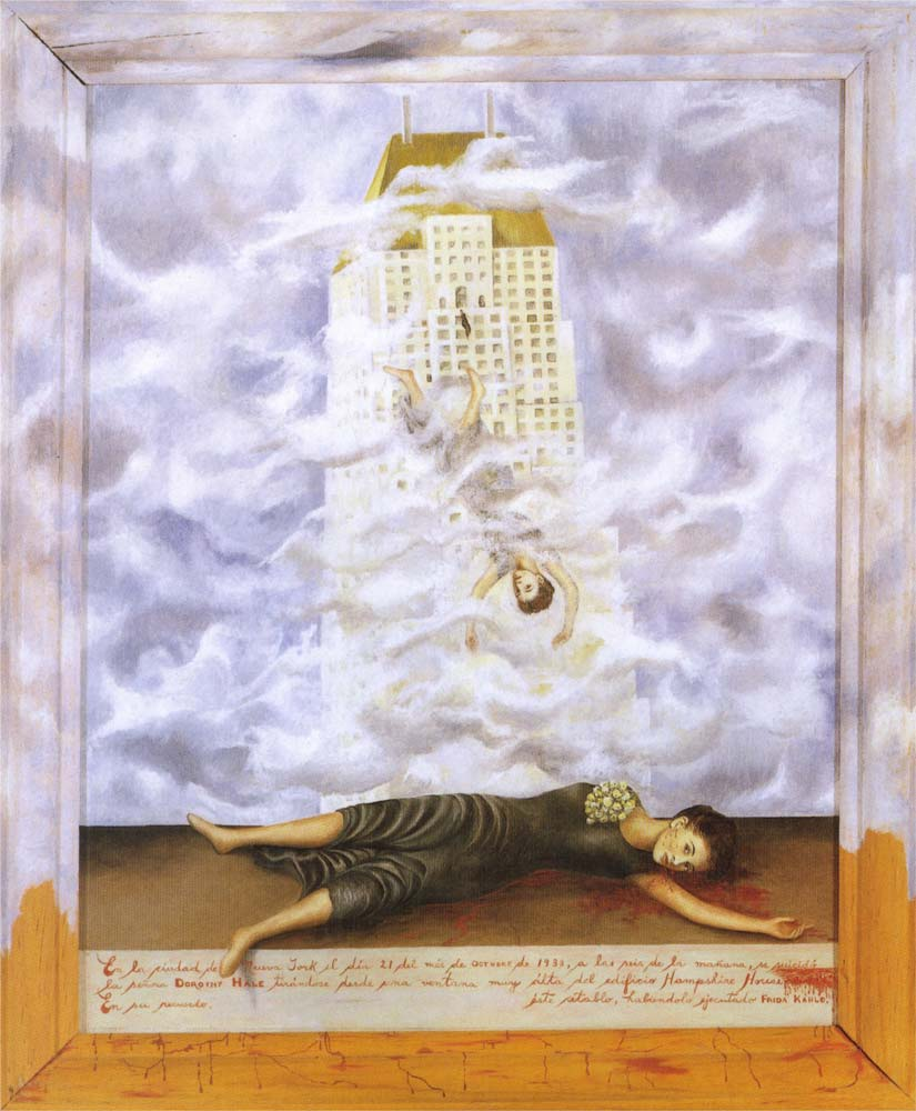 """""""Il suicidio di Dorothy Hale"""", 1938."""