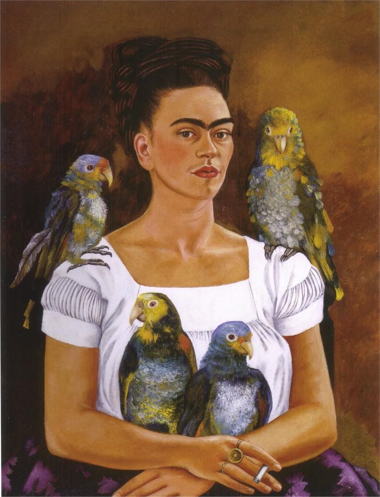 """Io e i miei pappagalli"", 1941."