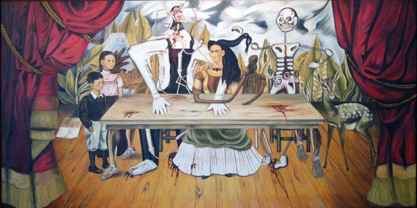"""""""La tavola ferita"""", 1940."""