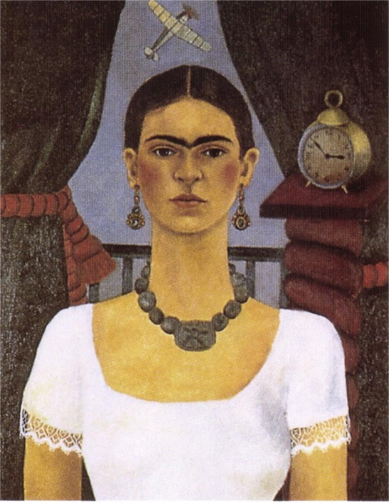 """""""Autoritratto-Il tempo vola"""", 1929."""