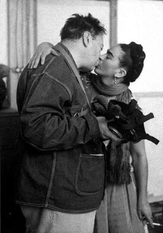 Diego Rivera e Frida Kahlo.