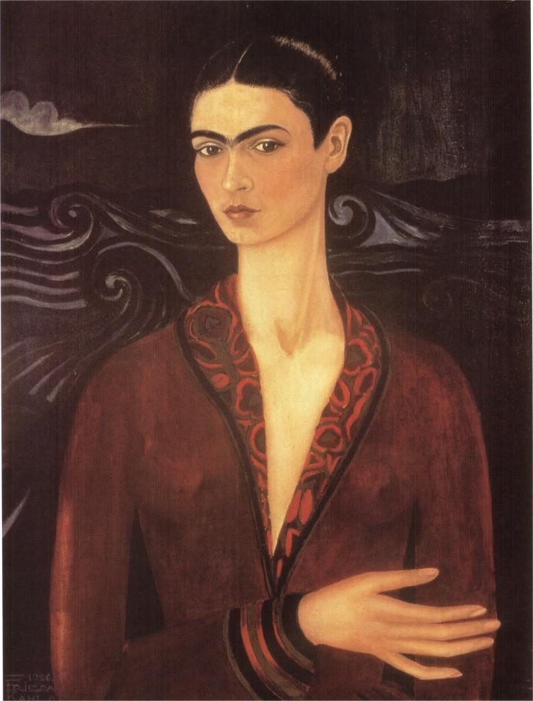 """""""Autoritratto con vestito di velluto"""", 1926."""