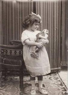 Frida Kahlo bambina.