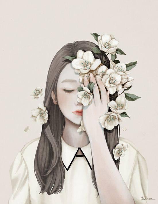 Mi succede spesso di pensare ad alta voce. E di parlare in silenzio. @devandrea Mi-Kyung Choi Art.