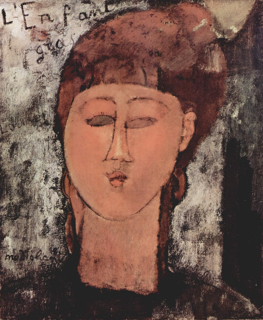 """""""L'enfant gras"""", 1915."""