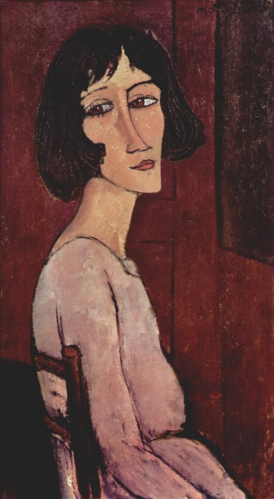 """""""Ritratto di Margherita"""", 1916."""